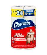 Charmin Bathroom Tissue Ultra Strong Triple Rolls