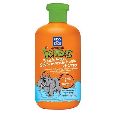 Kiss My Face Kids Orange U Smart Bubble Wash