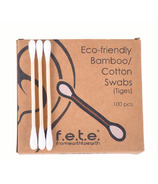 f.e.t.e. Eco-friendly Bamboo Cotton Swabs