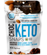 ChocXO Keto Snaps Dark Chocolate, Coconut, Almonds & Sea Salt