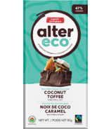 Alter Eco Dark Organic Chocolate Coconut Toffee