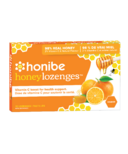 Honibe Honey Lozenges with Vitamin C & Orange