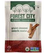 Forest City Organic Ground Cinnamon