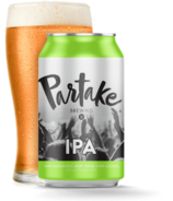 Partake Brewing IPA Nonalcoholic Craft Beer