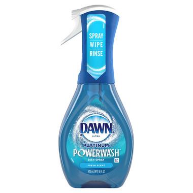Dawn Platinum Powerwash Dish Spray Dish Soap Starter Kit Fresh Scent