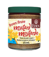 Eden Organic Brown Stoneground Mustard