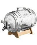 Kilner Drink Dispenser Barrel with Wood Stand