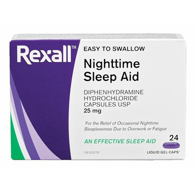 Rexall Nighttime Sleep Aid