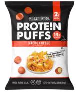 Shrewd Food Protein Puffs Nacho Cheese
