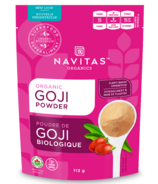 Navitas Naturals Organic Dried Goji Berries Powder