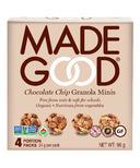 MadeGood Chocolate Chip Organic Granola Minis Snack Pack