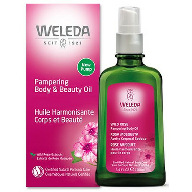 Weleda Wild Rose Pampering Body and Beauty Oil