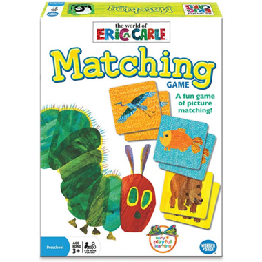 Wonder Forge The World of Eric Carle Matching Game