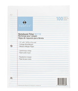 Sparco Standard Ruled Notebook Paper