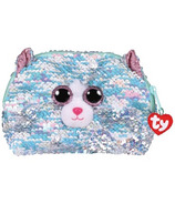 Ty Fashion Whimsy the Blue Cat Sequin Accessory Bag