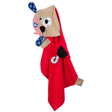 Zoocchini Toddler Towel Peyton the Pirate Dog