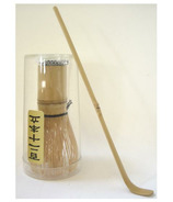 Two Hills Tea Bamboo Whisk & Spoon