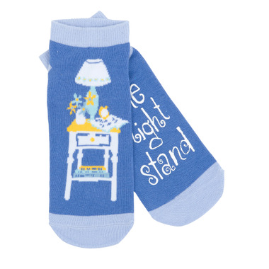 Little Blue House Women\'s Ankle Socks One Night Stand