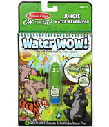 Melissa & Doug On the Go Water Wow! Reusable Water-Reveal Coloring Pad