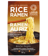 Lotus Foods Millet & Brown Rice Ramen with Miso