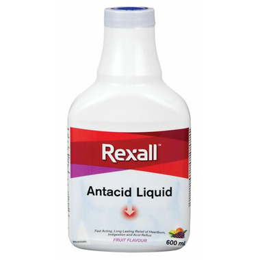 Rexall Liquid Antacid Fruit