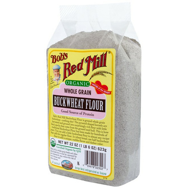 Bob\'s Red Mill Organic Whole Grain Buckwheat Flour