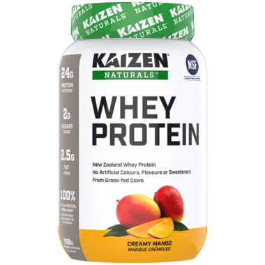 Kaizen Naturals Concentrate Whey Protein Creamy Mango