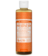 Dr. Bronner's Organic Pure Castile Liquid Soap Tea Tree 8 Oz