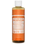 Dr. Bronner's Organic Pure Castile Liquid Soap Tea Tree 8 Oz