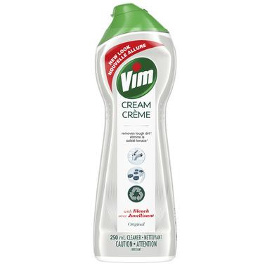 Vim Cream Cleanser With Bleach