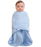 Halo Micro Fleece SleepSack Swaddle Blue