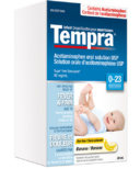 Tempra Fever & Pain Relief Infant Drops Banana (0-23 months)
