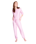 PJ Salvage Peachy Jogger Set Lilac Rose