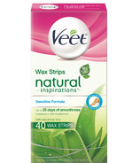 Veet Natural Inspirations Cold Wax Strips - Sensitive Formula