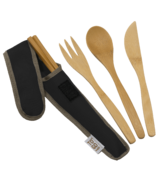 To-Go Ware RePEaT Utensil Set Hijiki Black