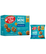 Enjoy Life Mini Crunchy Chocolate Chip Cookies Snack Packs