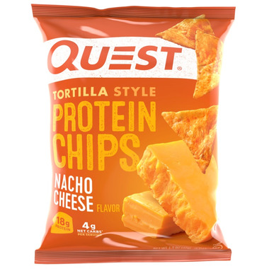 Quest Nutrition Protein Tortilla Chips Nacho Cheese