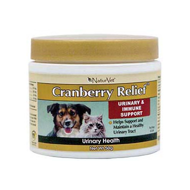 Naturvet Cranberry Relief Urinary & Immune Support Powder