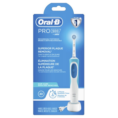 Oral-B Pro 500 Gum Care Power Rechargeable Electric Toothbrush