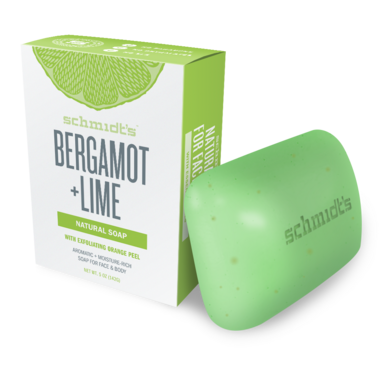 Schmidt\'s Naturals Bergamot + Lime Bar Soap
