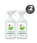 ATTITUDE Nature+ All Purpose Cleaner Disinfectant Thyme & Citrus Bundle