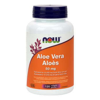 NOW Foods Aloe Vera 50 mg