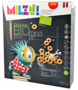 Milzu Organic Cereal Rye Honey Rings