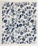 Ten & Co. Swedish Sponge Cloth Floral Navy