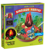 Creativty for Kids Grow N' Glow Dinosaur Habitat