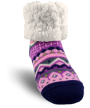 Pudus Classic Slipper Sock Nordic Pink