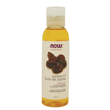 NOW Solutions 100% Pure Jojoba Oil