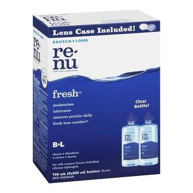 Bausch & Lomb Renu Fresh Multi-Purpose Solution Twin Pack