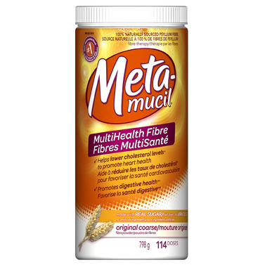 Metamucil MultiHealth Fibre Coarse Texture Powder