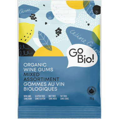 GoBIO! Organic Mixed Wine Gums